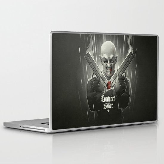 Contract Killer Laptop & iPad Skin