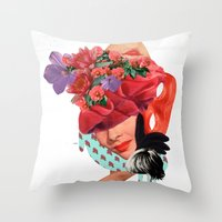 Solid things 8  Throw Pillow