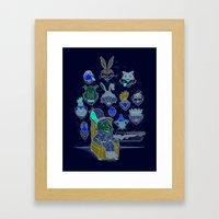 Wevenge! Framed Art Print