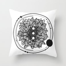 Elliptical I Throw Pillow