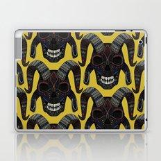 demon skull ochre Laptop & iPad Skin