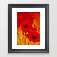 FLOWERS - Mellow Yellow Framed Art Print