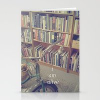 I Am Alive Stationery Cards