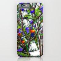 Abstract Beautiful Rainb… iPhone 6 Slim Case