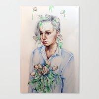 In Gloom/In Bloom Canvas Print