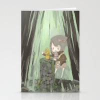 Lost Gauntlet  Stationery Cards