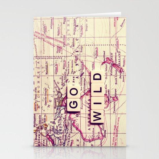 go wild Stationery Card