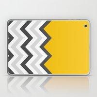 Color Blocked Chevron 17 Laptop & iPad Skin