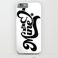 iPhone & iPod Case featuring Be Mine by manish mansinh