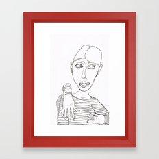 Really? Framed Art Print