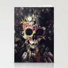 Garden Skull Stationery Cards