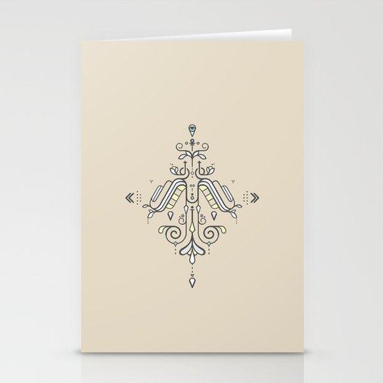 TIOH THREE Stationery Card