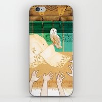Larks & Owls iPhone & iPod Skin
