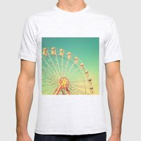 All The Happy Days - Car… Mens Fitted Tee Ash Grey SMALL