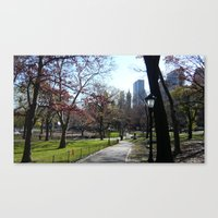 November in NY Canvas Print