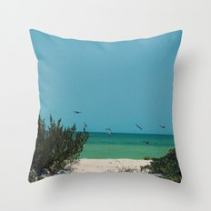 Beauty of The Gulf Throw Pillow
