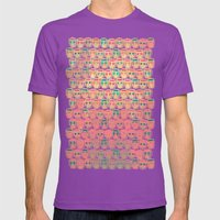 CALAVERITAS Mens Fitted Tee Ultraviolet SMALL