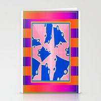 Elements Of Colors Stationery Cards