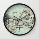 The Lost Beach Wall Clock