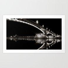 Margaret Bridge V. Art Print