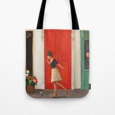 Hopscotch Tote Bag