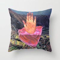 Sensational Fossil Throw Pillow