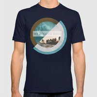 We belong Mens Fitted Tee Navy SMALL