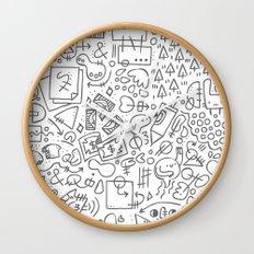 Doodle Do Wall Clock