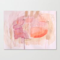 Low Key Pink Canvas Print
