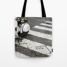 Moped Tote Bag