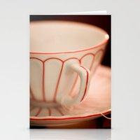 Vintage Teacup Stationery Cards