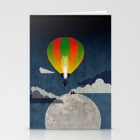 Picnic In A Balloon On T… Stationery Cards