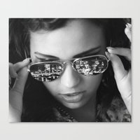 The London look Canvas Print