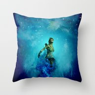 Fighter In The Universe Throw Pillow