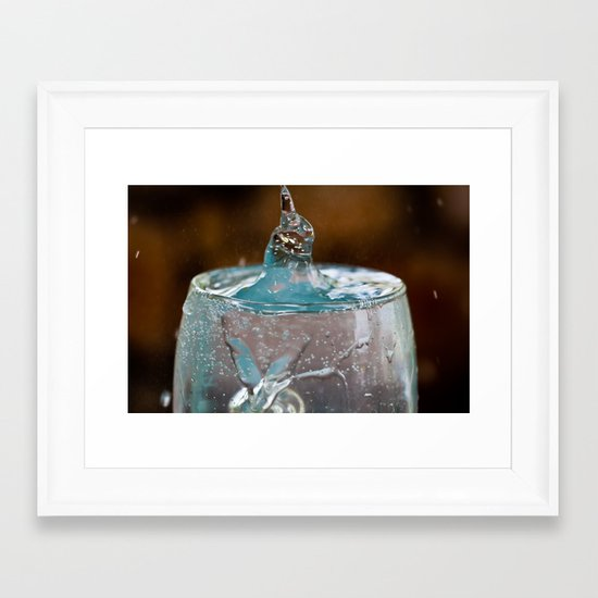 I am Triton Framed Art Print