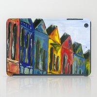Rainbow Row iPad Case