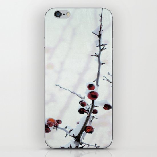Red Freeze iPhone & iPod Skin