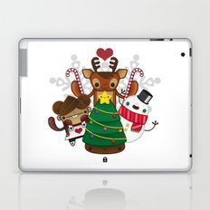 Merry Christmas Chestnut Girl!!! Laptop & iPad Skin