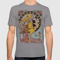 Ma Chere Nouveau Mens Fitted Tee Tri-Grey SMALL