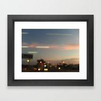 BKK SKY Framed Art Print