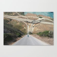 The Sky is Flat Canvas Print
