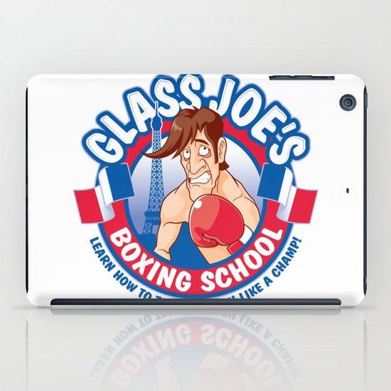 Glass Joe's Boxing School iPad Case