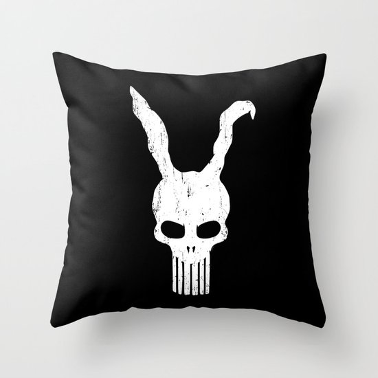 The Bunnisher Throw Pillow