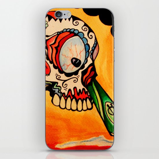 los muertos  iPhone & iPod Skin