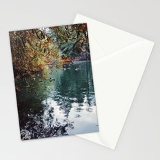 Heavenly Pond in Franklin Canyon Park, CA Stationery Cards