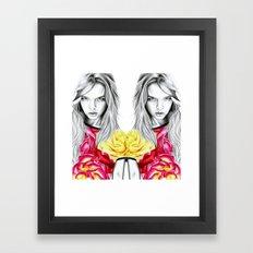 French Summer Framed Art Print