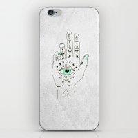 EYE SEE HAMSA iPhone & iPod Skin