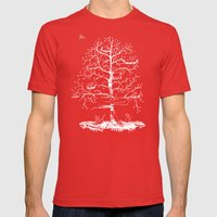 The Tree Mens Fitted Tee Red SMALL