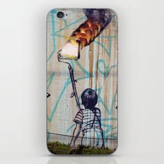 Rolling On Fire iPhone & iPod Skin