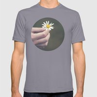 Flowers For Your Hair Mens Fitted Tee Slate SMALL